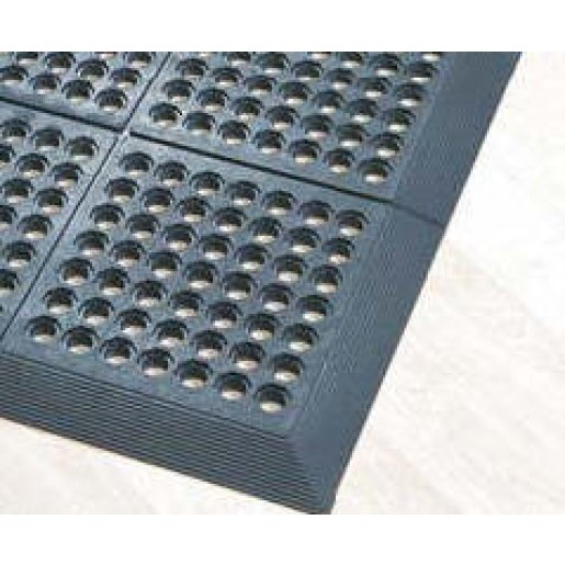 "Tapis anti-fatigue 60""x36"" noir"