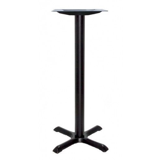 Base de table fonte noir  22''x22'' haute