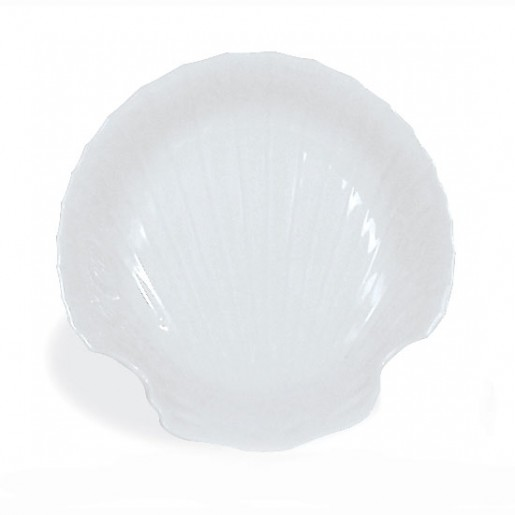 Coquille st-jacques 6'' porcelaine