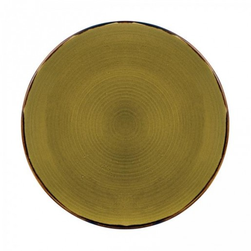 Assiette 6-3/8'' Harvest green (1dz/cs)