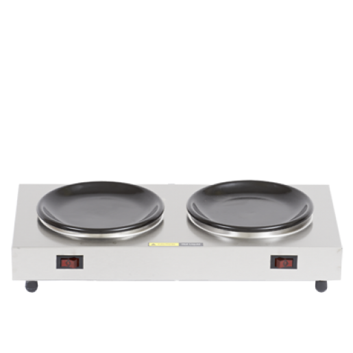 Double coffee warmer 200W 120V