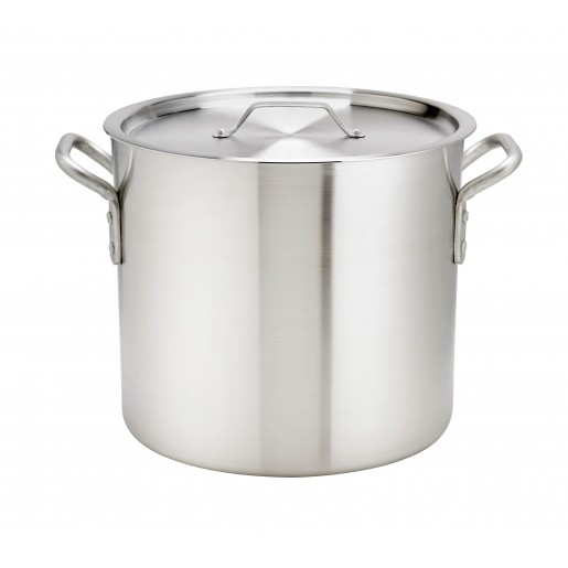 Aluminum stock pot 40L standard weight Thermalloy