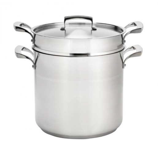 Double boiler with lid 16L Thermalloy