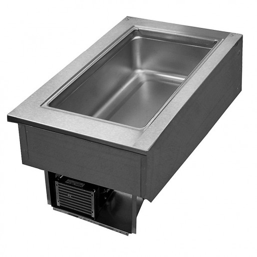 "Refrigerated pan drop-in 12""x20"""
