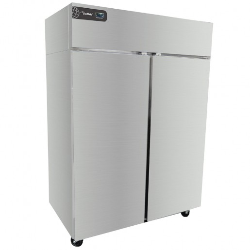 Freezer with 2 sections 46ft³ 2 full doors