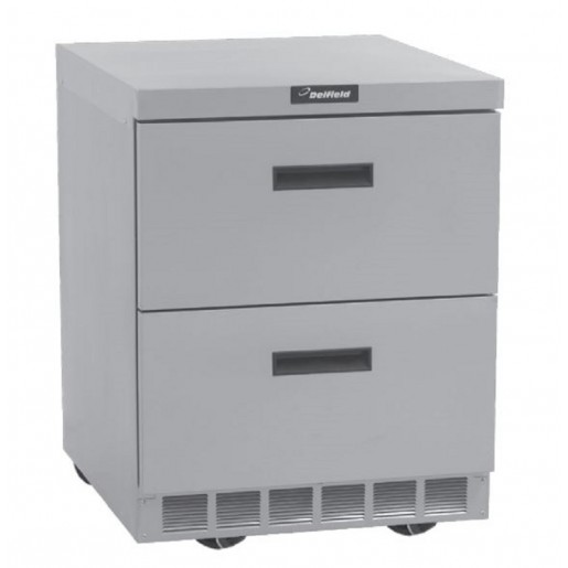Undercounter freezer 2 drawers 32""