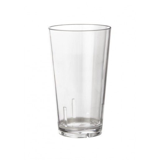 Mixing glass 16oz plastic clear
