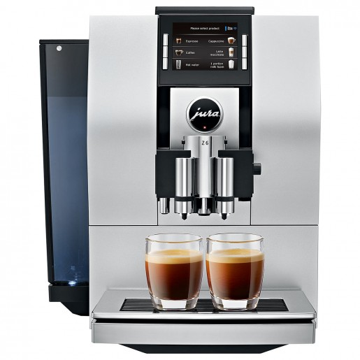 Espresso machine Z6 aluminum finish