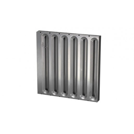 "Hood filter stainless steel 20""x16"""