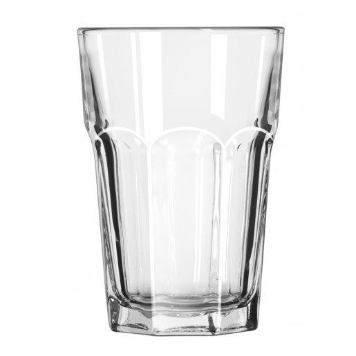Beverage glass 14oz Gibraltar Duratuff (3dz/cs)