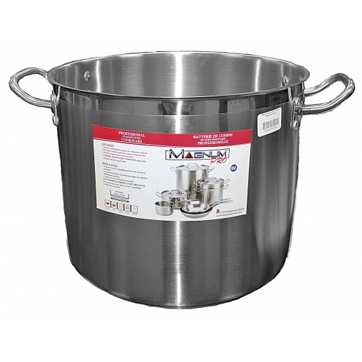 Stainless steel stock pot 37.9L Magnum Pro