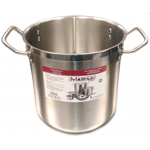 Stainless steel stock pot 15.1L Magnum Pro