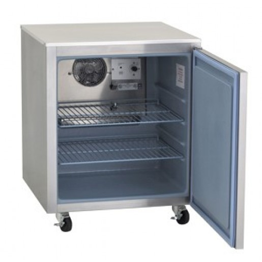 Undercounter freezer 27''1 door on casters