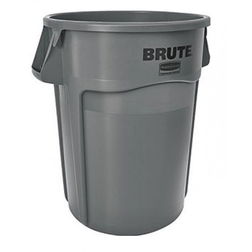 Brute container without lid gray 32GAL