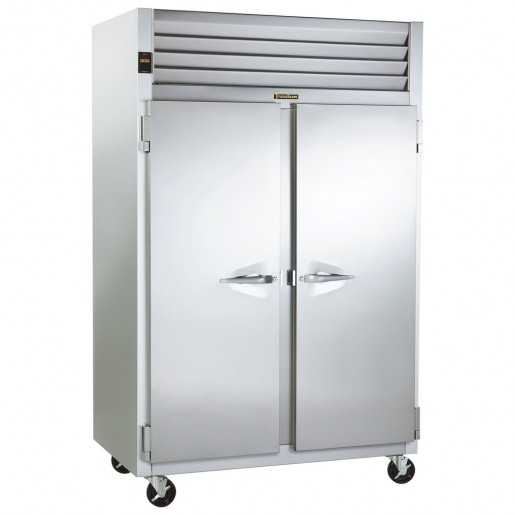 "Freezer 2 doors and 2 sections52-1/8""x35""x83¼"" 46ft³"